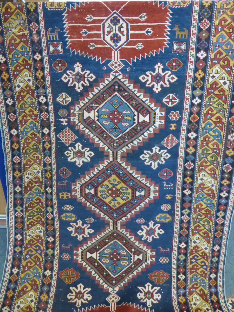 Antique Caucasian Carpet £900