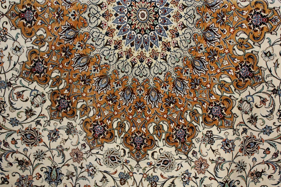 Fine Silk on Silk Carpet £3000