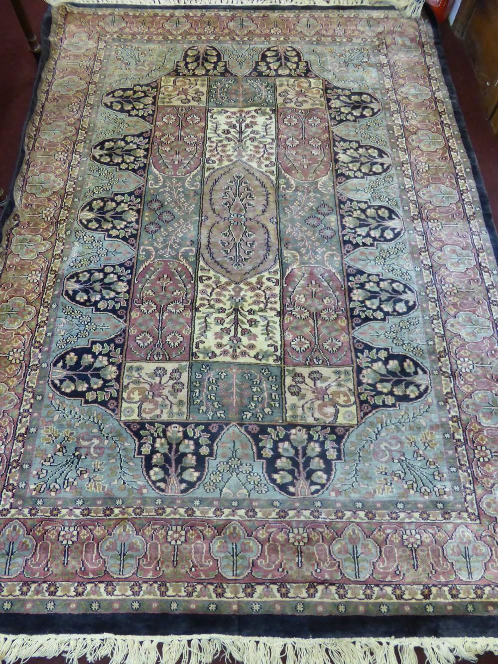 Persian Silk Carpet £420