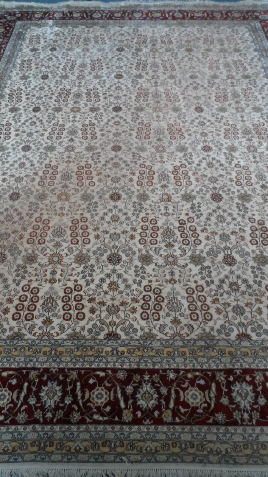 Silk Hereke Carpet £1000
