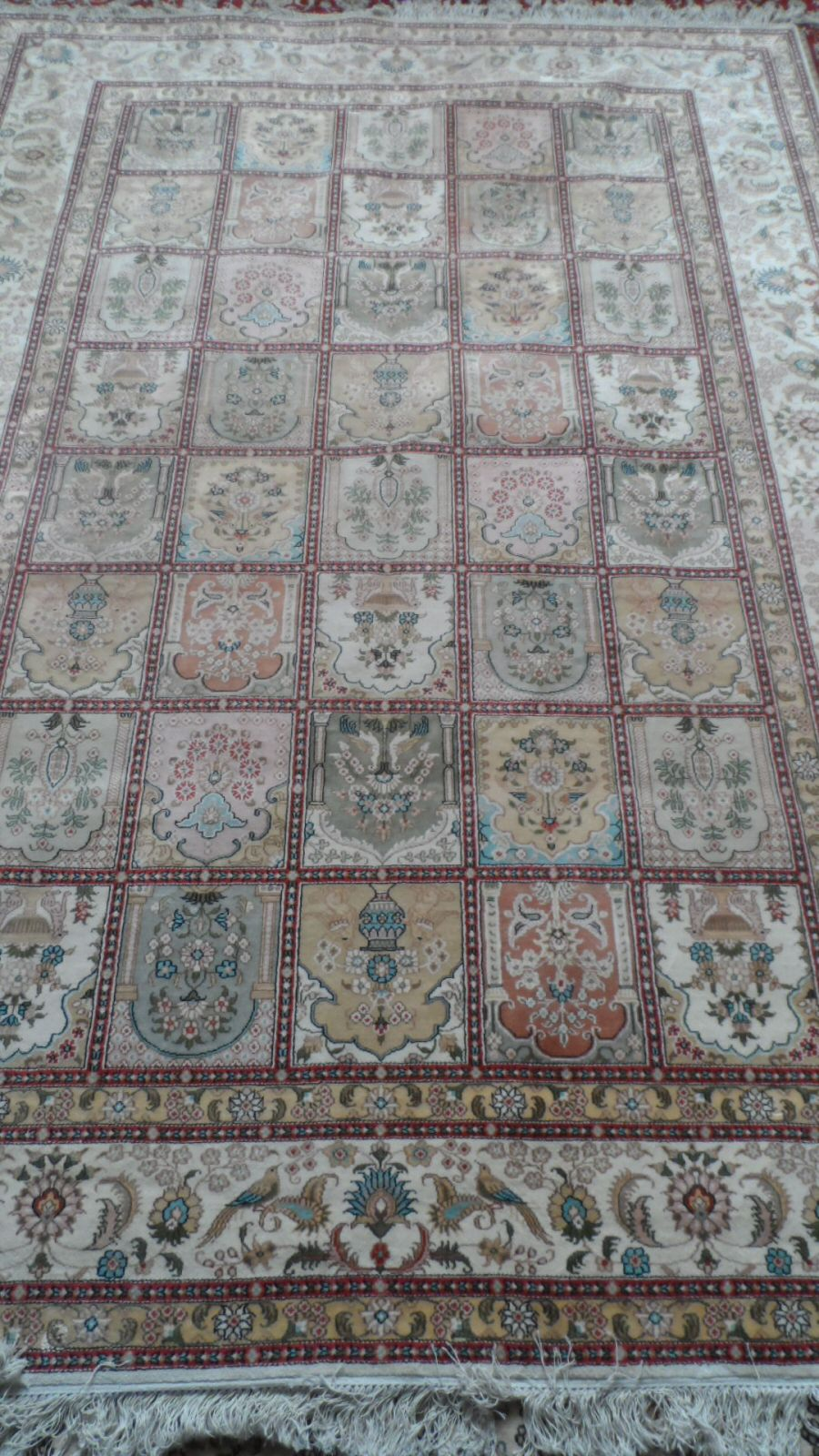 Silk Hereke Carpet £1500