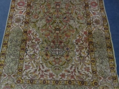 Turkish Hereke Silk Rug £700