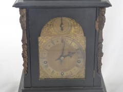 An Antique Ebonised Clock £360