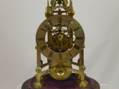 Antique Skeleton Clock £500