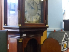 Grandfather Clock by Joseph Cross of Bradford £750