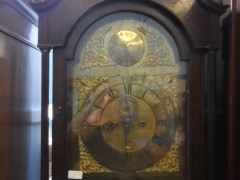 Oak case Grand Father Clock £340