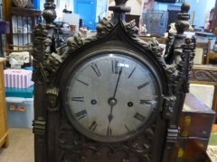 Twin Fusee Bracket Clock £420