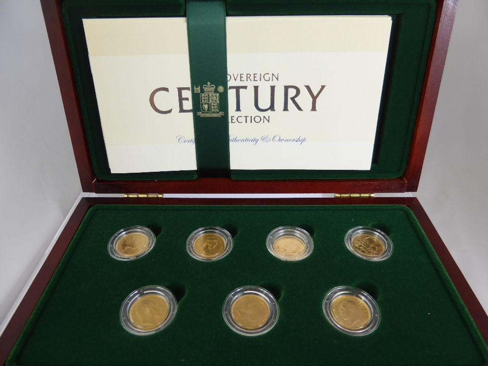 A Royal Mint Gold Sovereign Century Collection £1300.jpg
