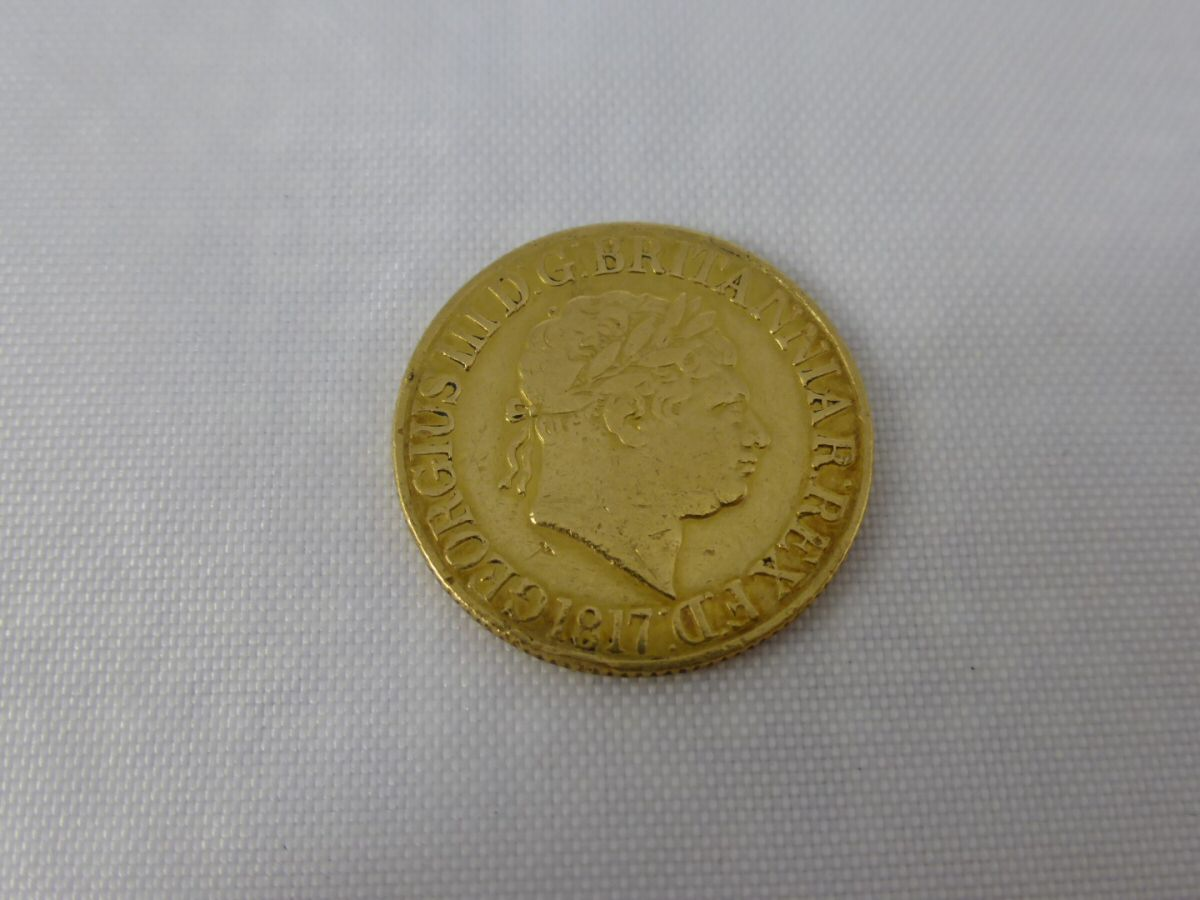 George III 1817 Gold Sovereign £370