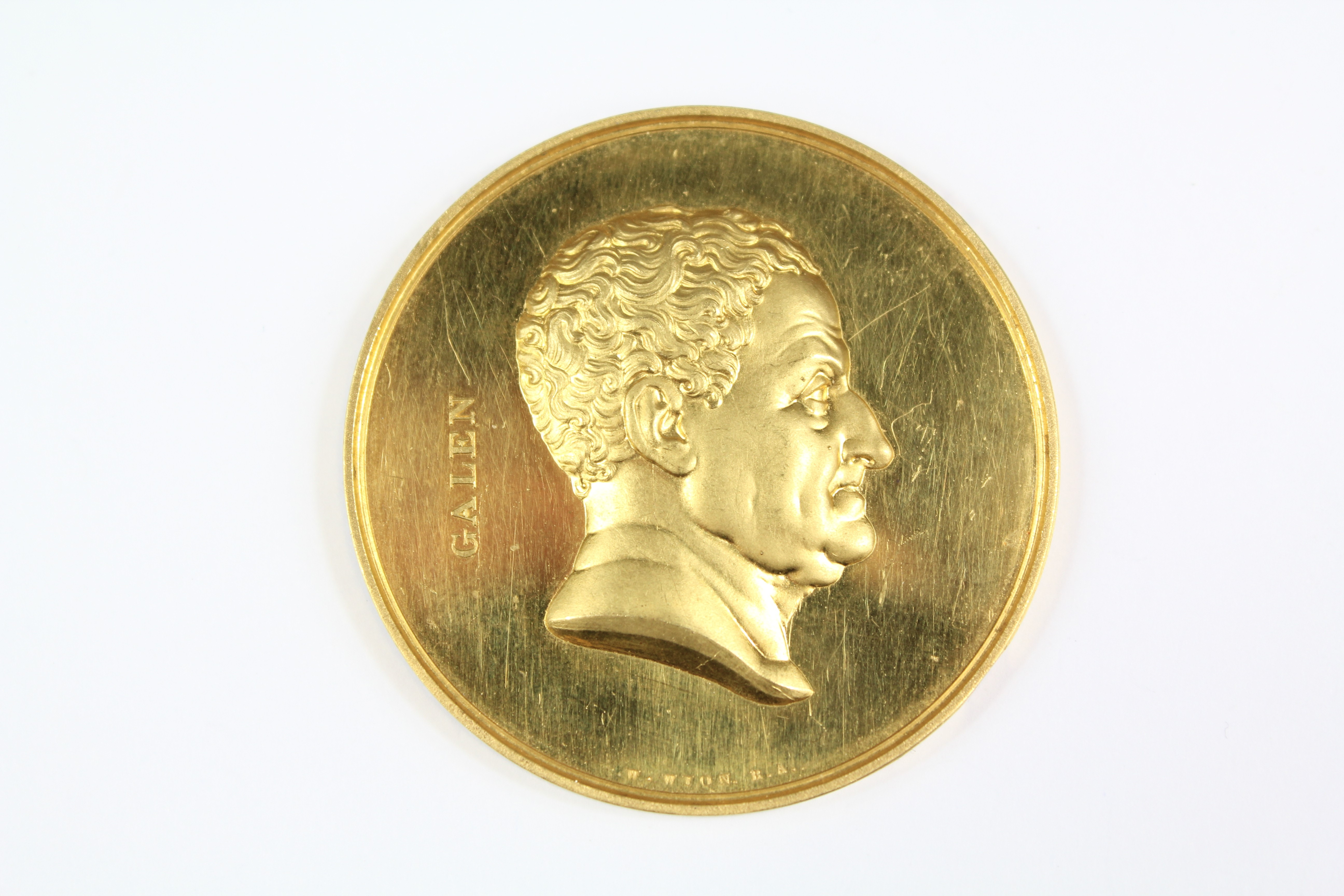 19th Century 18ct Gold Prize Medal £1400