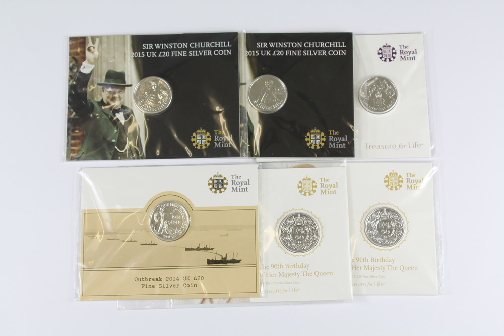 GB Coins sold for £360