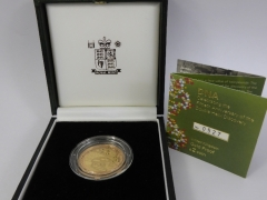 A Royal Mint Double Helix£2.00 Gold Proof Coin £360.jpg