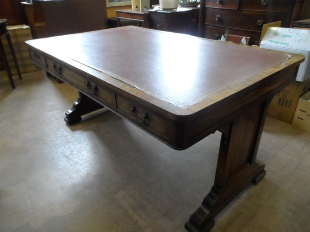 Victorian Library Table £1900