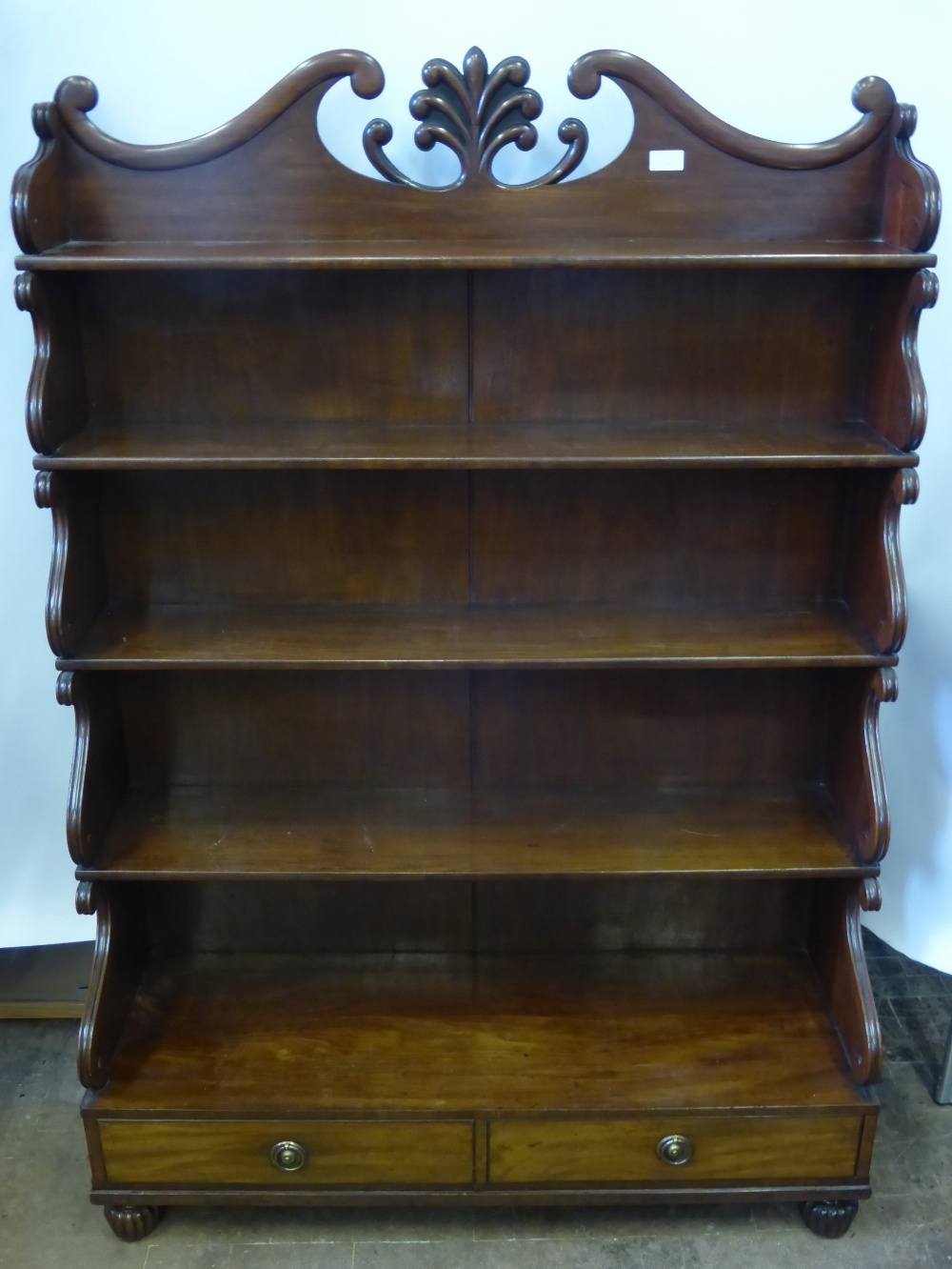 William IV Waterfall Bookcase £1000