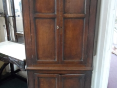 Antique Oak Farmhouse Corner Cuboard £300