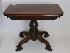 Antique Rosewood Tea Table £360