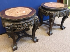 Chinese Hardwood Plant Stands £850