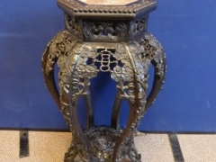 Chinese hardwood Torchere £420