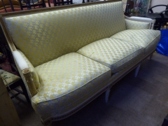 Antique French Style Three Seat Sofa £300