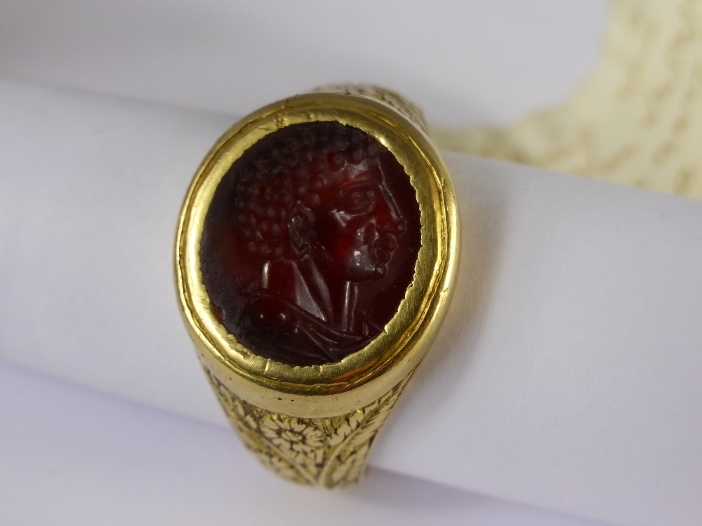 18th Century Gold Intaglio Ring £16000