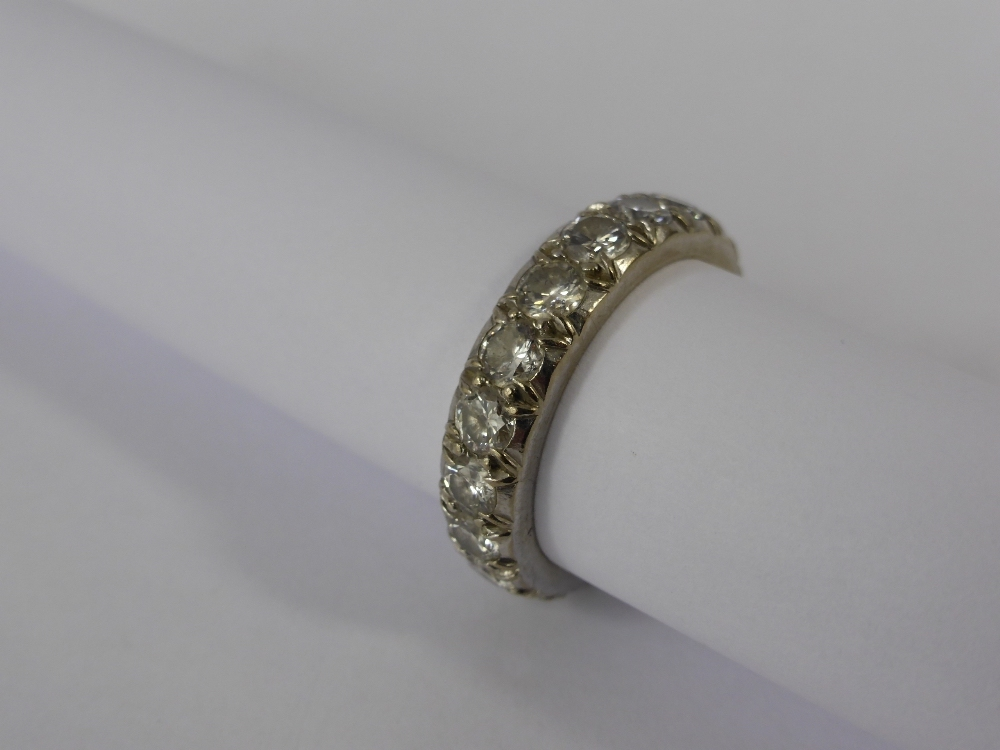 A Lady's White Gold & Diamond Full Eternity Ring £800.jpg