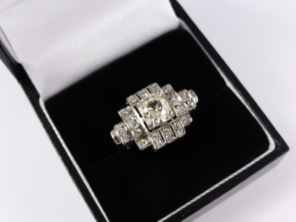 Art Deco Style Diamond Ring £1800