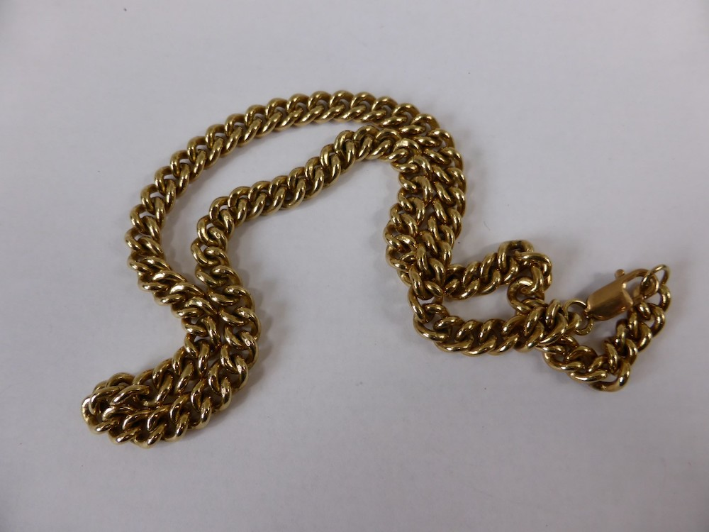Gold Fob Chain £530