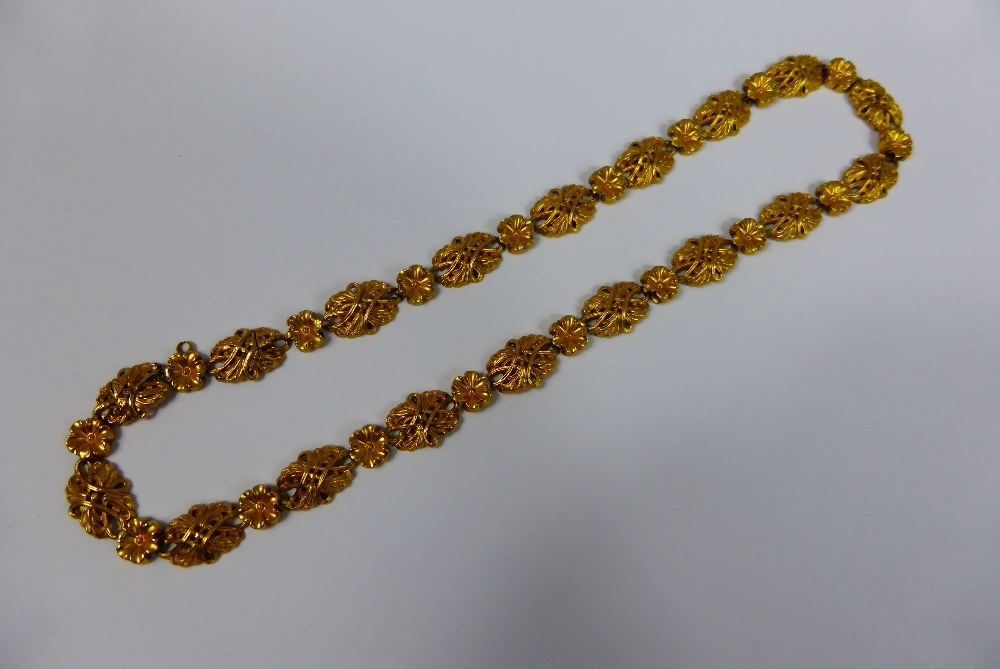 Gold Necklace £550
