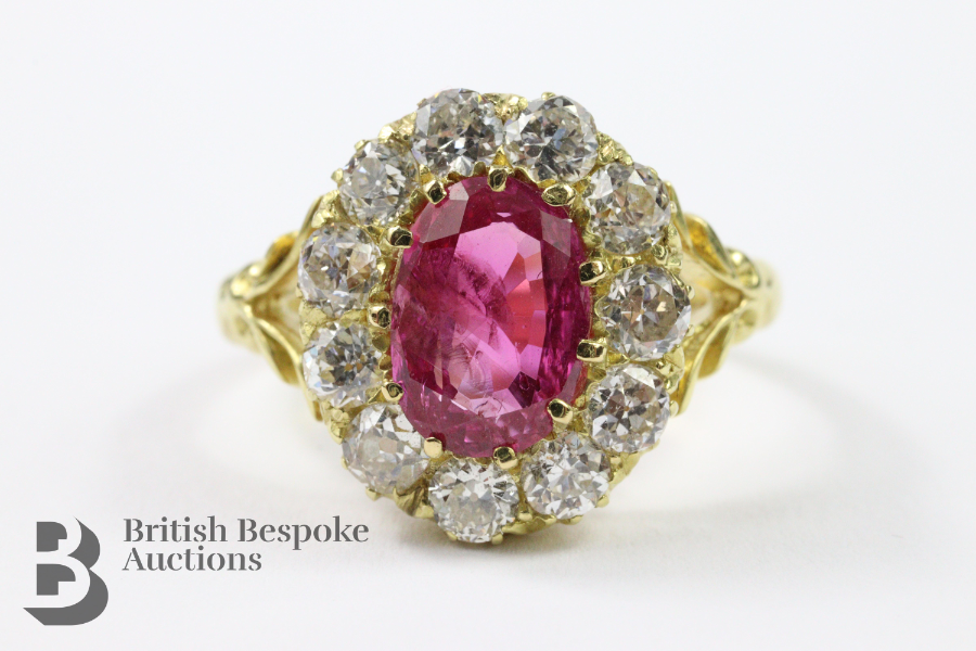 Natural Burmese Ruby Ring £5000