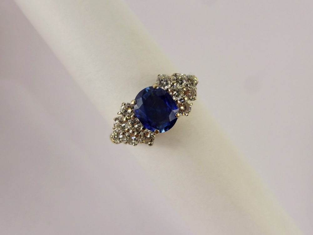 Sapphire and Diamond Ring £700
