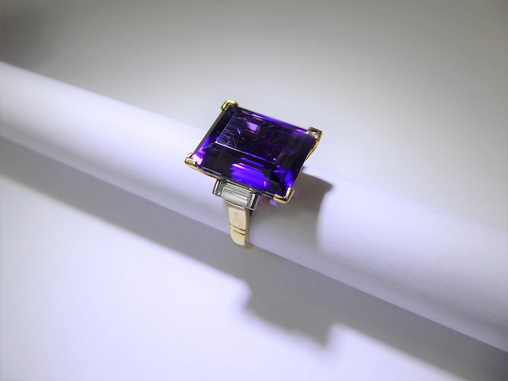 Russian Amethyst Ring £1200