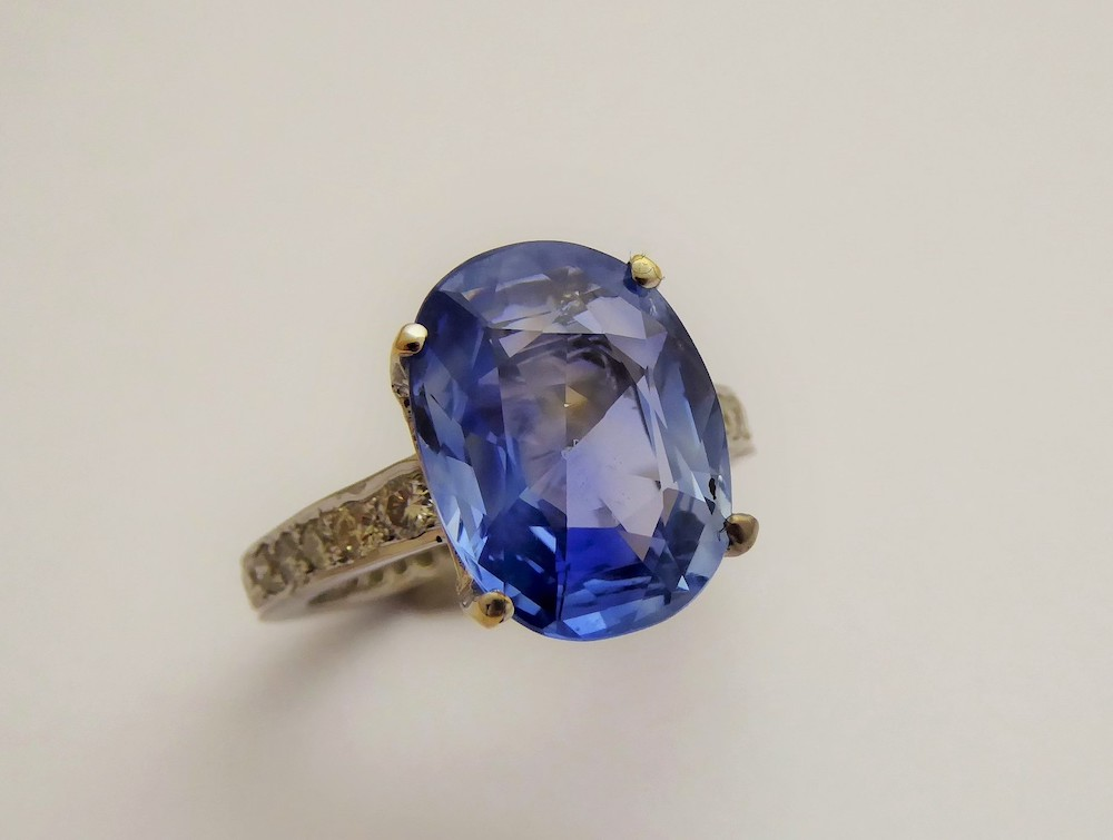 Sapphire and Diamond Ring £3200