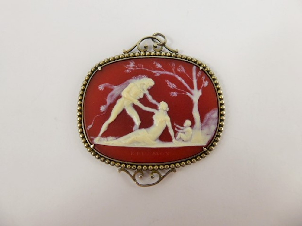 Antique Sardonyx Cameo £3000