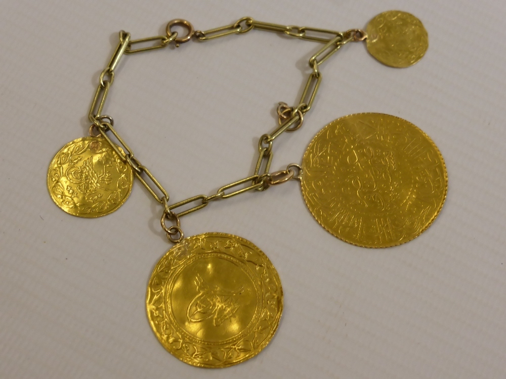 Persian Antique Coin Bracelet £350
