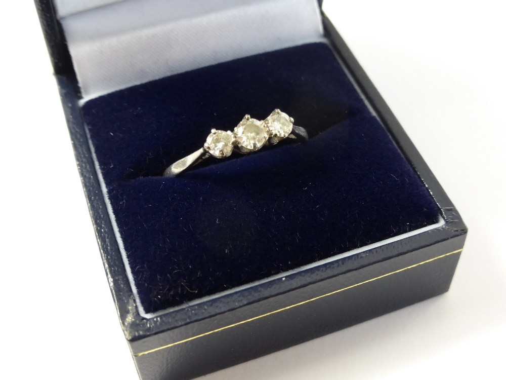 Platinum & Diamond Ring £400