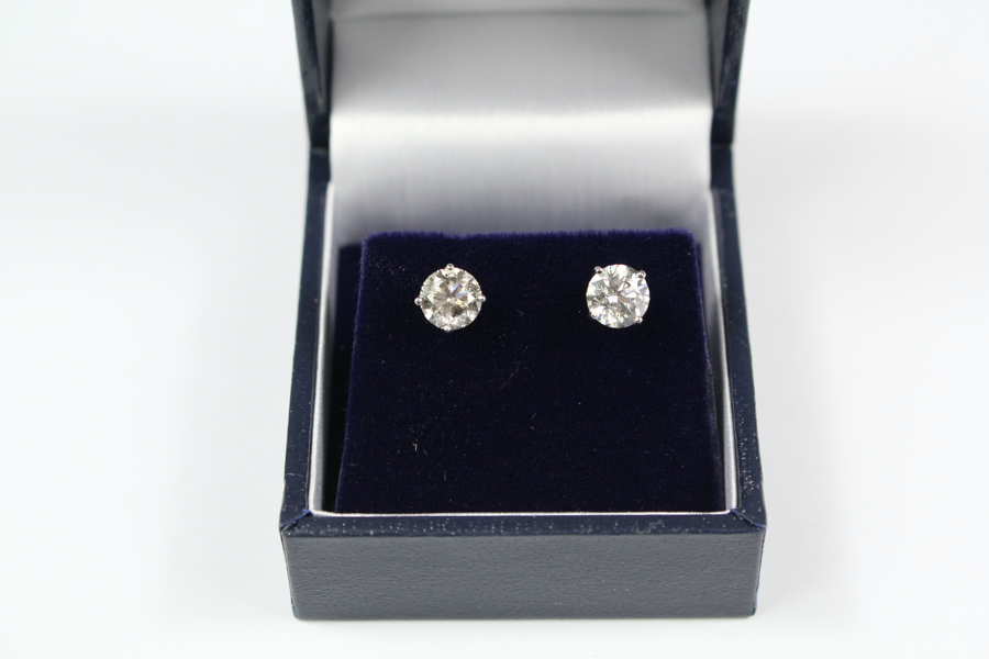 Diamond Earrings SOLD FOR £2000