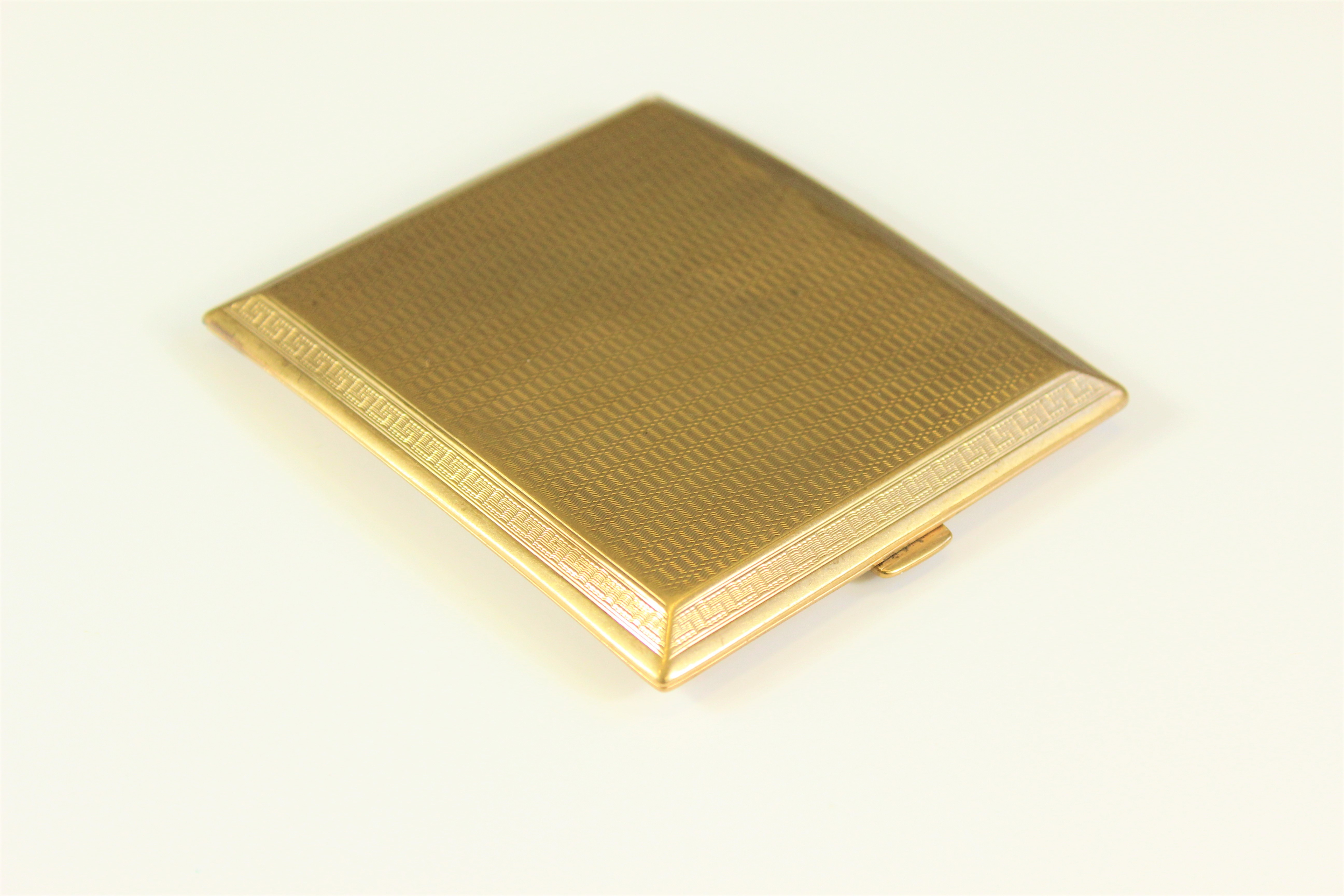 Gold Cigarette Case with Provenance £1350