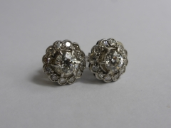 18ct Gold & Diamond Earrings £1200