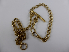 18ct Gold Fob Chain £820