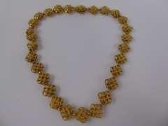 9ct Gold & Gilded Mughal Style Necklace £550