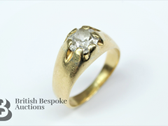 Gold and Diamond Ring sold for £1100