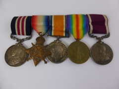 Bravery in The Field medals £600