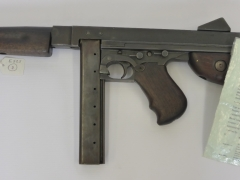 Deactivated Thompson Machine Gun £800