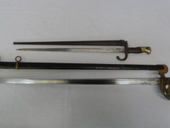 German Sword by Enfrhorster Solingen and WW1 Army Bayonet £380