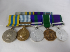 Group of Five WW11 Medals £2700