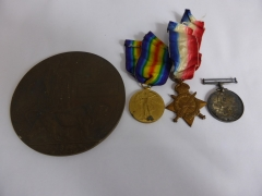 Group of WW1 Medals £380