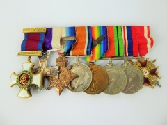 E.G Hamilton Great War & WWII Medal Group C.M.G_D.S.O_M.C of the Connaught Rangers £7500
