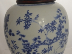 An Antique Chinese Blue & White Ginger Jar £1300