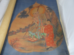 Chinese painting on Silk £400