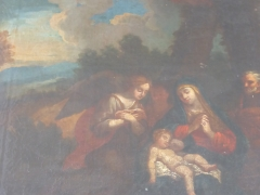 Circa 18th Century Oil on Canvas £560